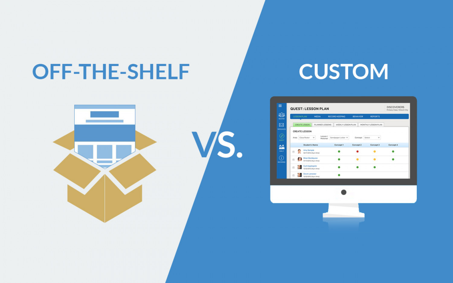 Custom vs Off-the-shelf elearning solution