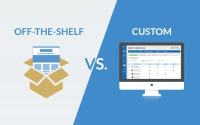 Custom vs Off-the-shelf elearning solution: Which is right for you?